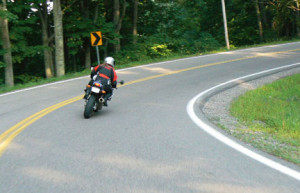 Trail braking can be very useful for street riders. Downhill corners is one example.
