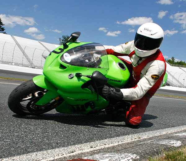 The Real Value of Knee Dragging   Riding in the Zone