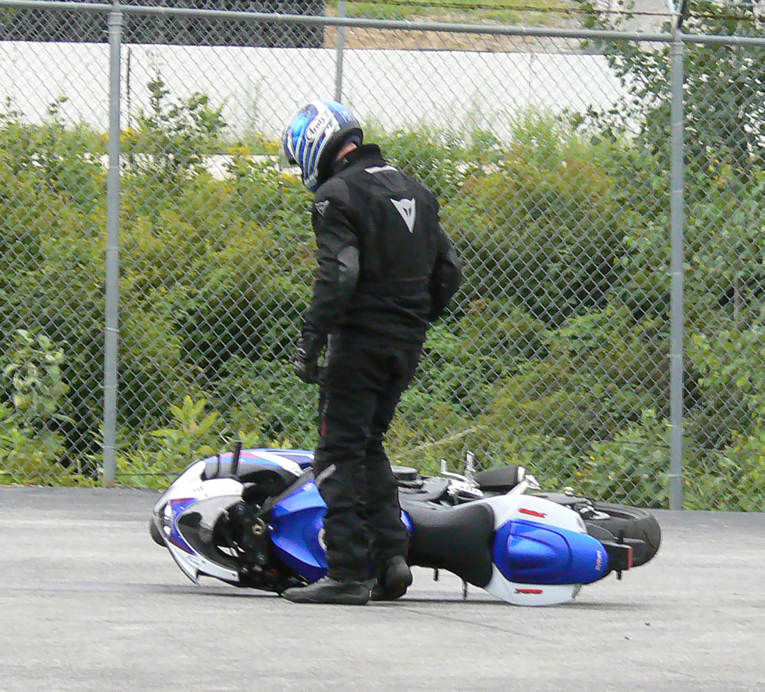 How to Ride a Motorcycle Slowly | Riding in the Zone