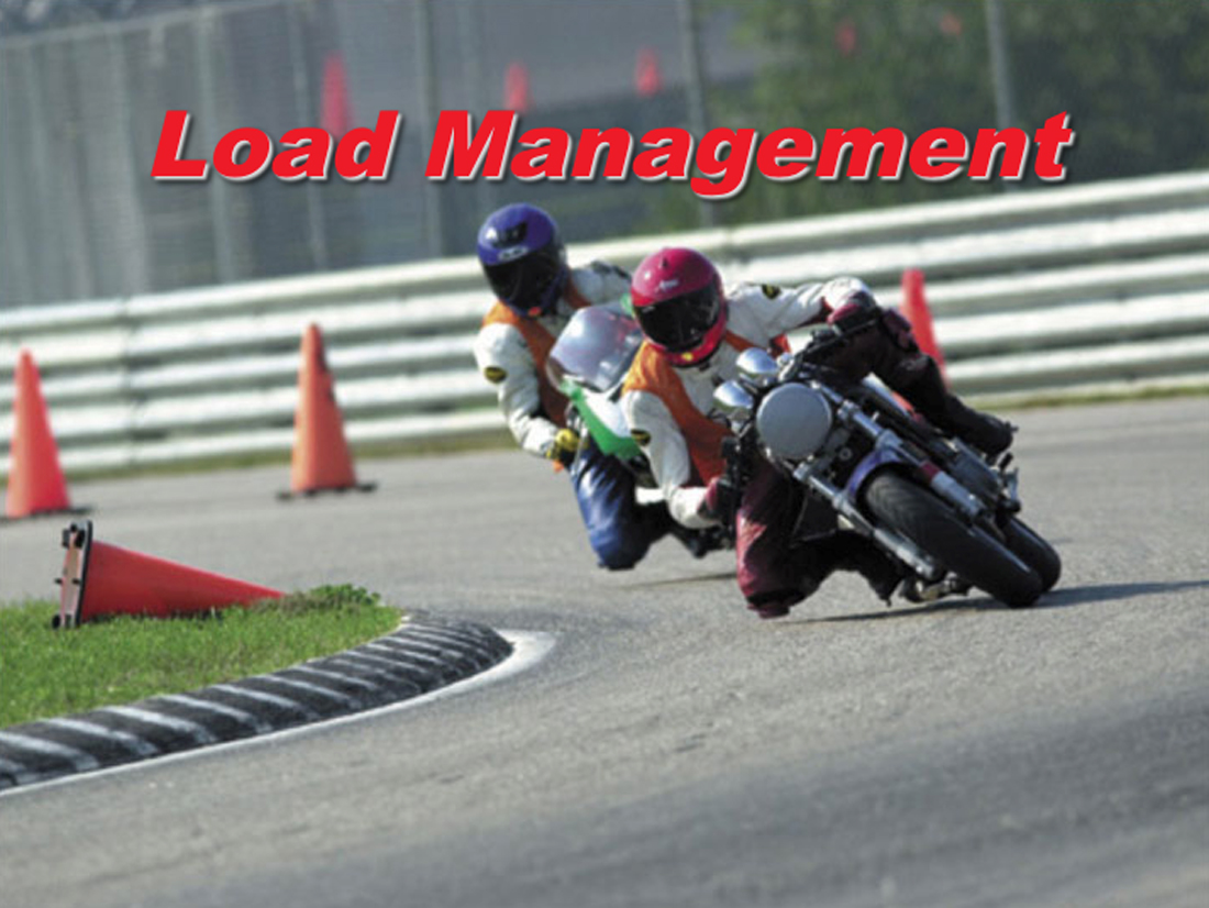 How to Preserve Traction by Managing Load   Riding in the Zone
