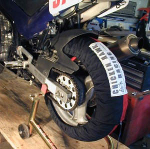 Tire warmers are necessary for racing, but not for track days.