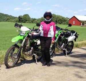 Basic Off-road and dual-sport training is available.