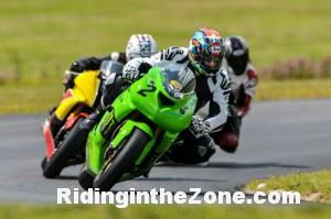 Jeff Meyers on his '05 ZX6R