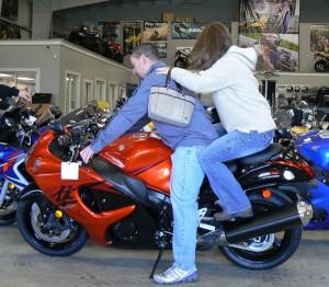 A Hayabusa just may be more bike than you need...Just maybe.