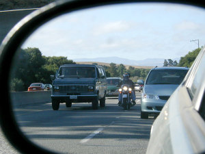 Lane splitting will more likely be tolerated if it is done with respect.