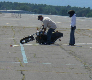 Not everyone is cut out to ride a motorcycle.