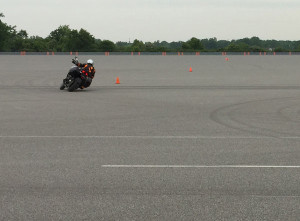 Demo of Cornering ABS.