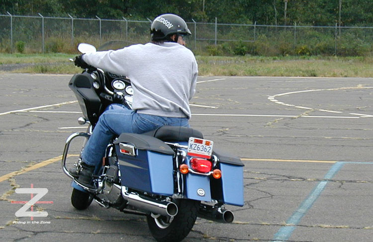 How to Ride a Motorcycle Slowly